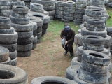 Paintball Field Maze at CryWolf