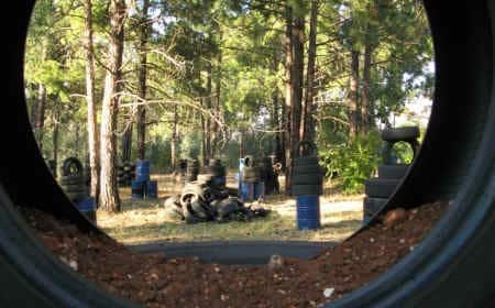 Junkyard Paintball Field 02