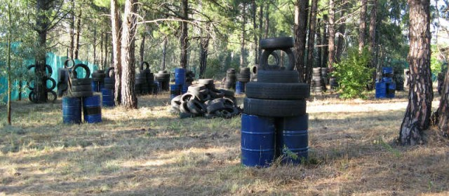 Junkyard Paintball Field 03